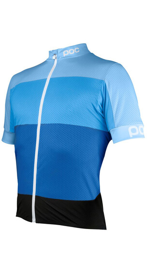 POC M's Fondo Light Jersey Seaborgium Multi Blue